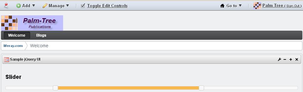 Applying jQuery and its custom UI in Liferay 6 plugins